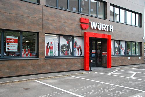 Würth Shop Linz-Industriezeile (Eröffnung im April VERSCHOBEN)