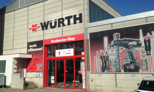Handwerker Shop Würth command