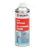 Cleaner, structural adhesive