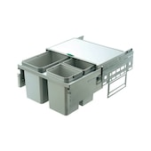 Kitchen waste-divider systems