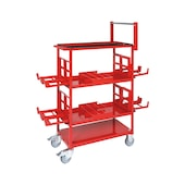 ORSY 1 shelving system, accssrs.