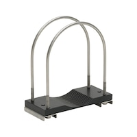 Clamp for transport tube