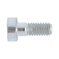 Hexagon Socket Head Cap Screw with centre, with low head