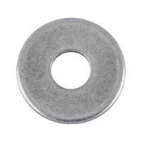 Washer with large outside diameter