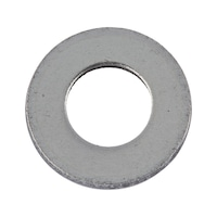 Flat washer without chamfer