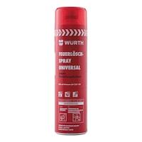 Fire extinguishing spray, Universal