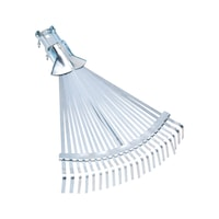 Adjustable leaf broom