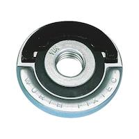 Ecrou de serrage rapide pour meuleuses d'angle Ø 115 à 150mm FIXTEC