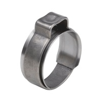 One-ear clamp with insert ring