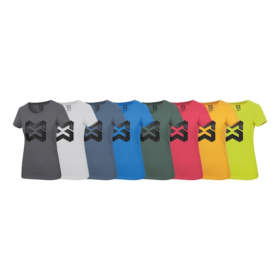 Arbeits T-Shirt Logo IV Damen - 1