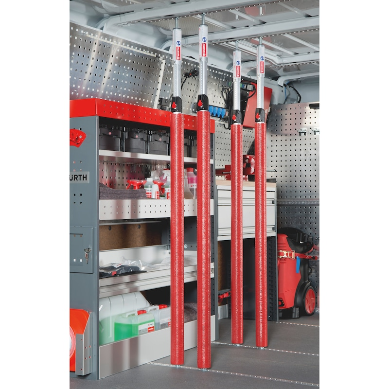 Aluminium clamping rods set - 1