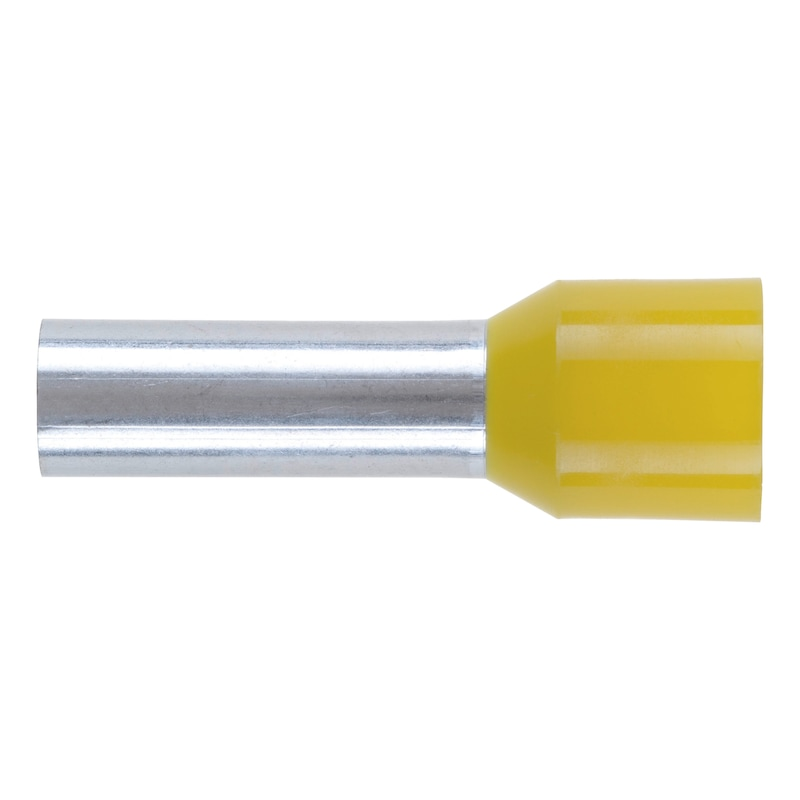 Wire end ferrule with plastic sleeve - WIRE END FERRULES DIN46228 70,0X27