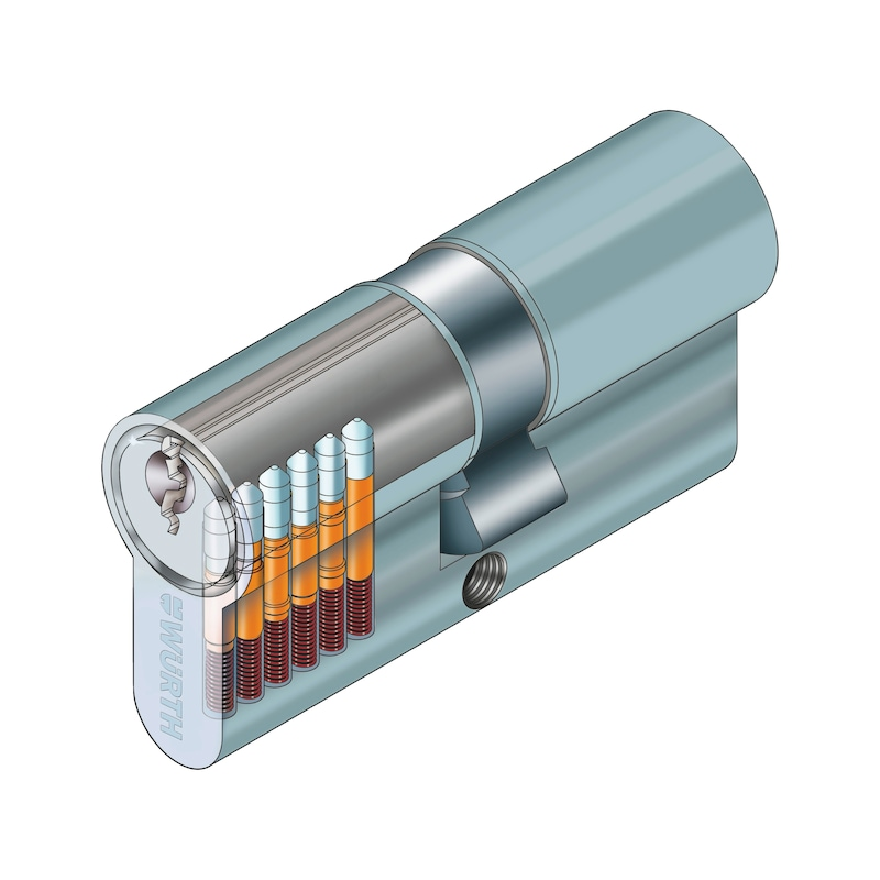 Profile double cylinder NP - 3