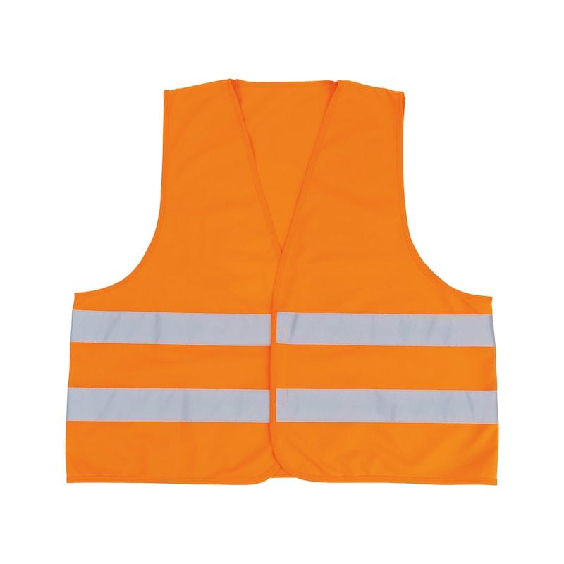 High-vis vest  - HIVISVEST-ORANGE-ISO20471-XL