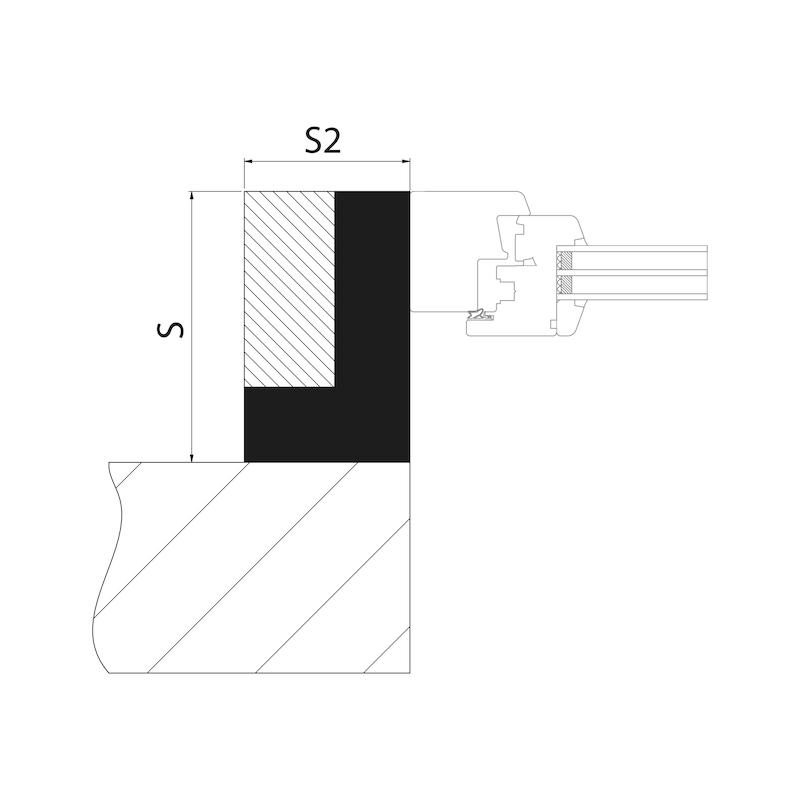 Mounting bracket VWM, complete - 3