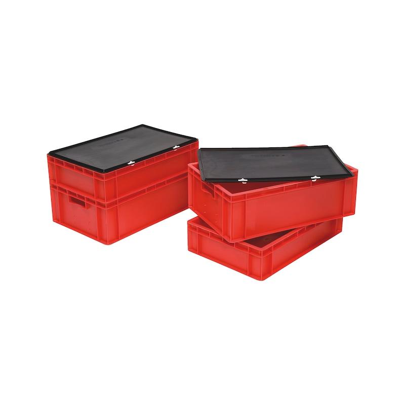 Stackable transport bin
