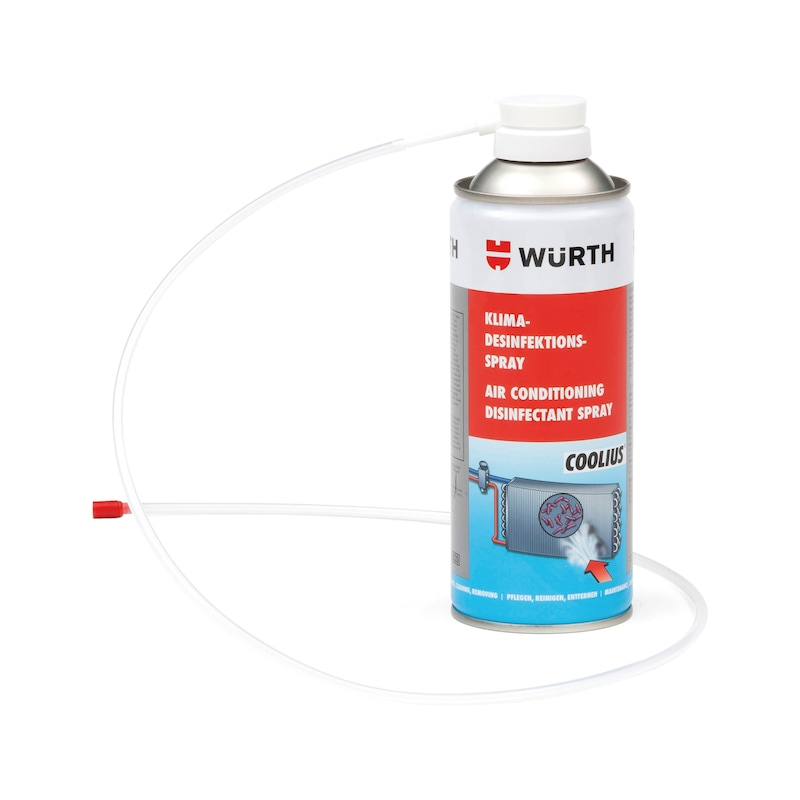 Air conditioning disinfectant spray - 1