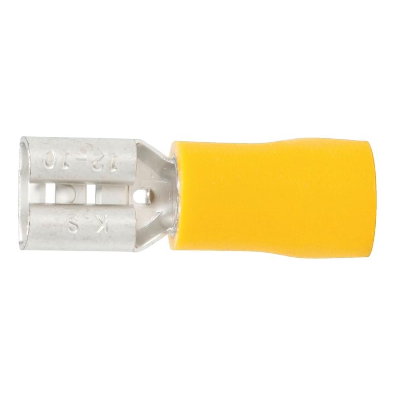 Crimpkabelschuh Flachsteckhülse - 2