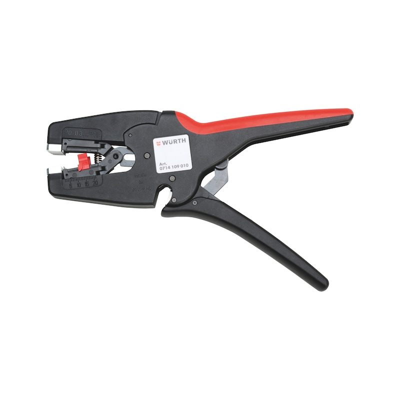 Automatic self-adjusting wire stripping pliers - 1