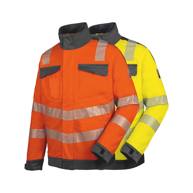 Neon high-visibility jacket, class 3