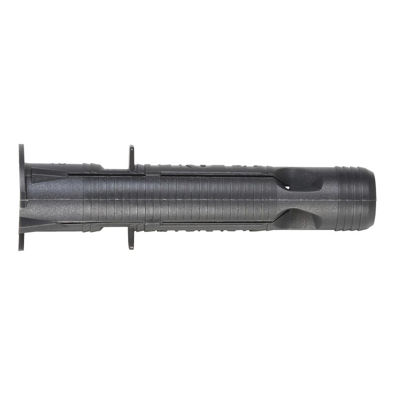 Plastic multi-purpose dowel SHARK<SUP>®</SUP> Pro - DWL-(SHARK PRO)-PLA-12X66