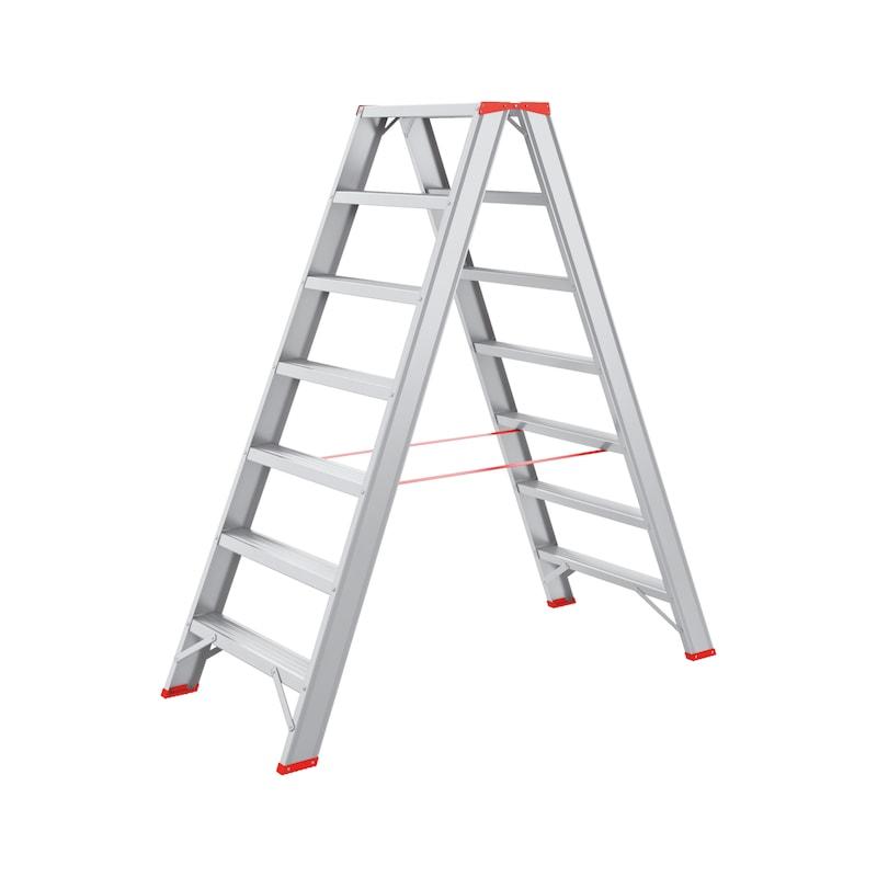 Aluminium step ladder - STEPLDR-ALU-2X7STEP