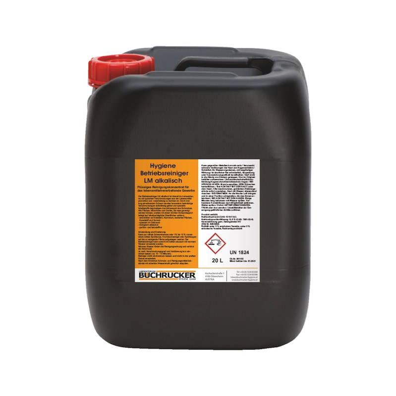 LM alkaline hygienic plant cleaner - 2