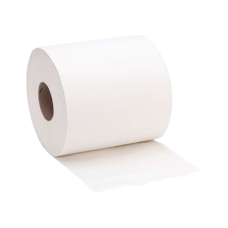 Cleaning paper for paper roll holder