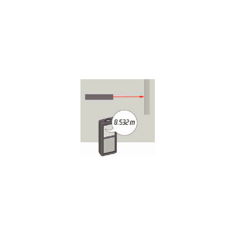 Laser distance meter WDM 2-18 - 2