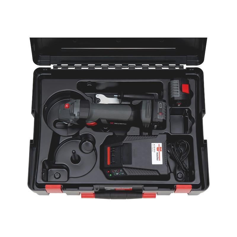 Akku-Winkelschleifer EWS 18-A, 125 mm Scheibe - 0