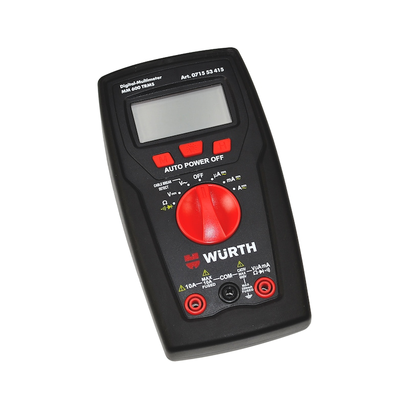 Digital-Multimeter MM 600 TRMS - 1
