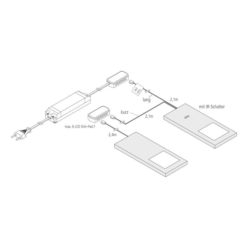 LED-Unterbauleuchte UBL-24-1 Set - 3