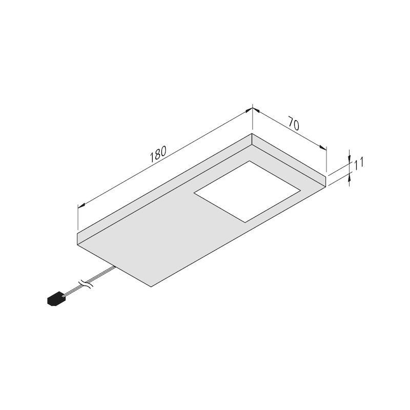 LED-Unterbauleuchte UBL-24-1-EW Set - 2