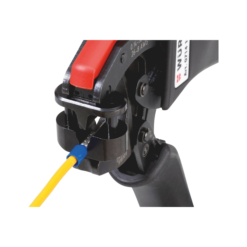 Crimping tool, compact, with 360° insertion - 2