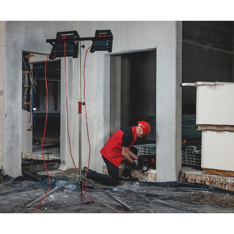 LED-Arbeitsleuchte Powerquad - LEUCHT-LED-(POWERQUAD-M)-2STECKDOSEN