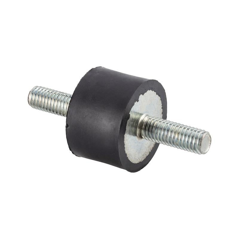 Rubber/metal buffer Type A - C2C - 1