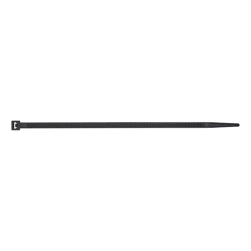 Kabelbinder Standard mit Kunststoffzungenverschluss - KBLBA-KST-KSTZNG-SCHWARZ-4,8X178