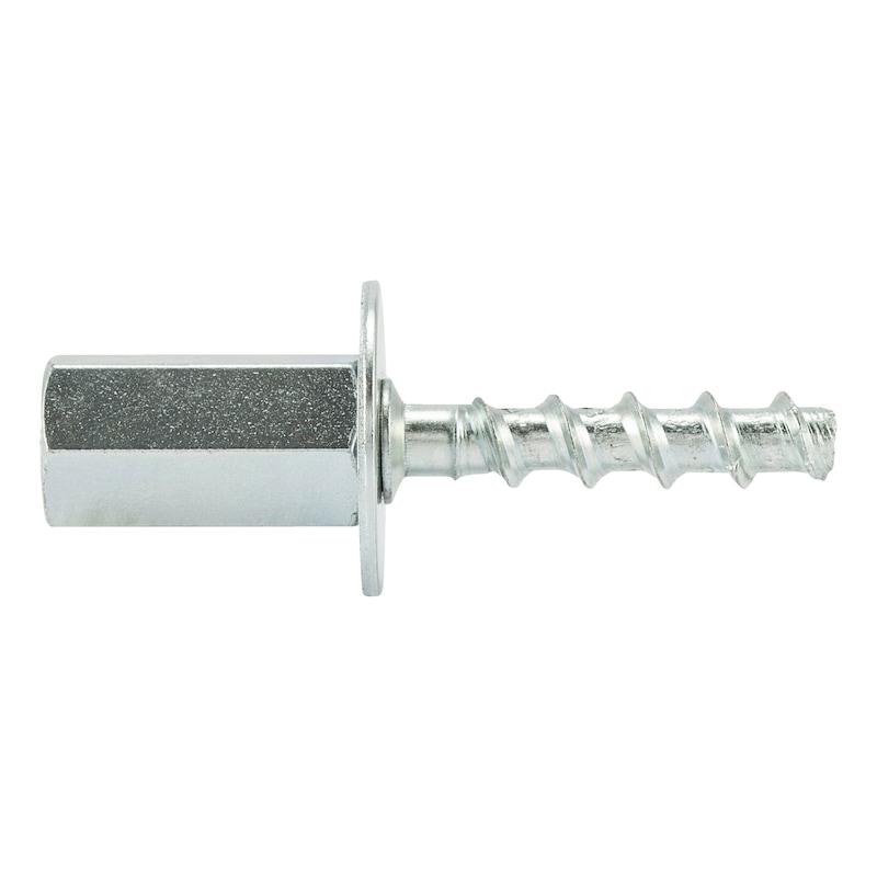 Concrete screw with female thread W-BS/S - 0