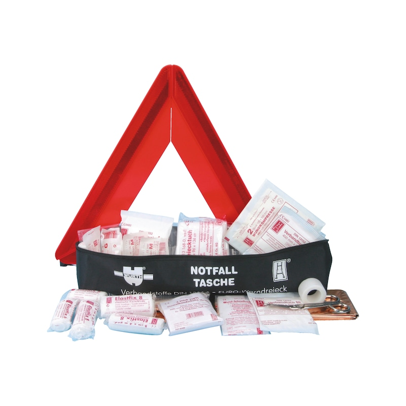Combination first-aid bag - 1STAIDBG-COMBI-DIN13164