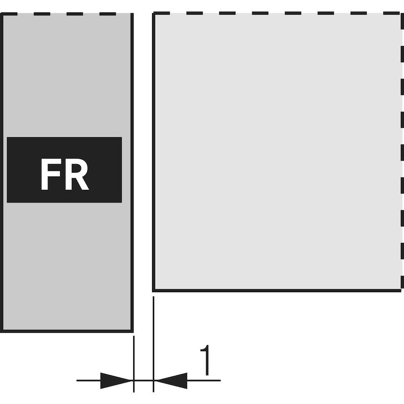 Fully extending Nova Pro soft-close, Liquid - 3