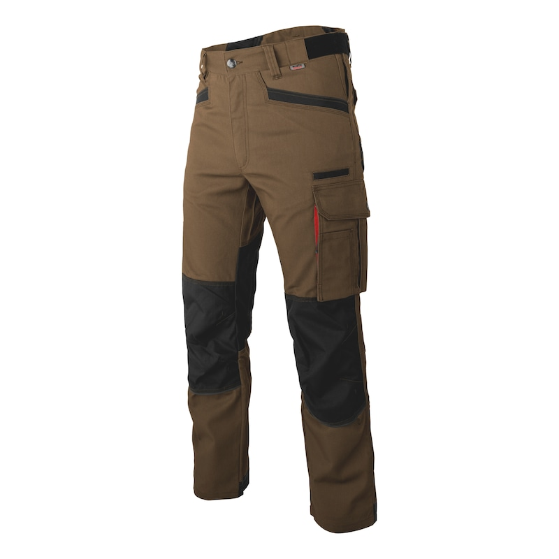 Nature trousers - WORK TROUSER NATURE BROWN 58