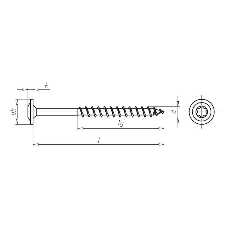 ASSY<SUP>®</SUP> 3.0 SK Timber screw - 2