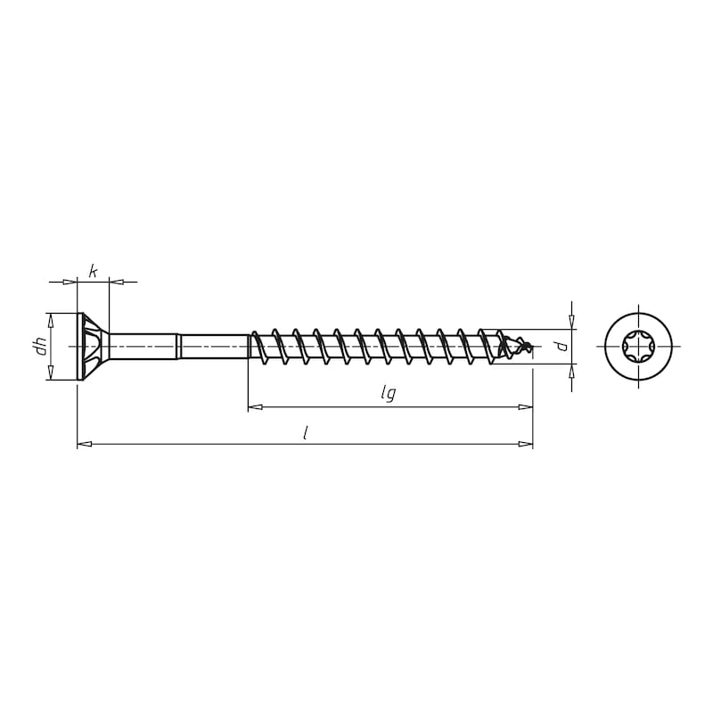 ASSY<SUP>®</SUP> 3.0 Zink Nickel Holzbauschraube - 3