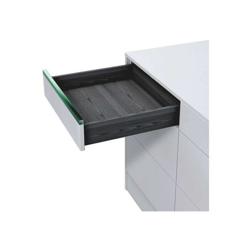 Underfloor guide full extension Dynapro liquid soft-close, 40/70 kg - 13