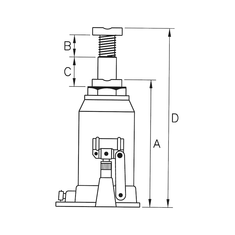 Hydraulik-Wagenheber - 0