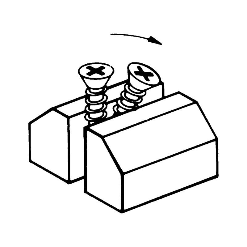 WÜPOFAST<SUP>®</SUP> vernickelt Spanplattenschraube - 3