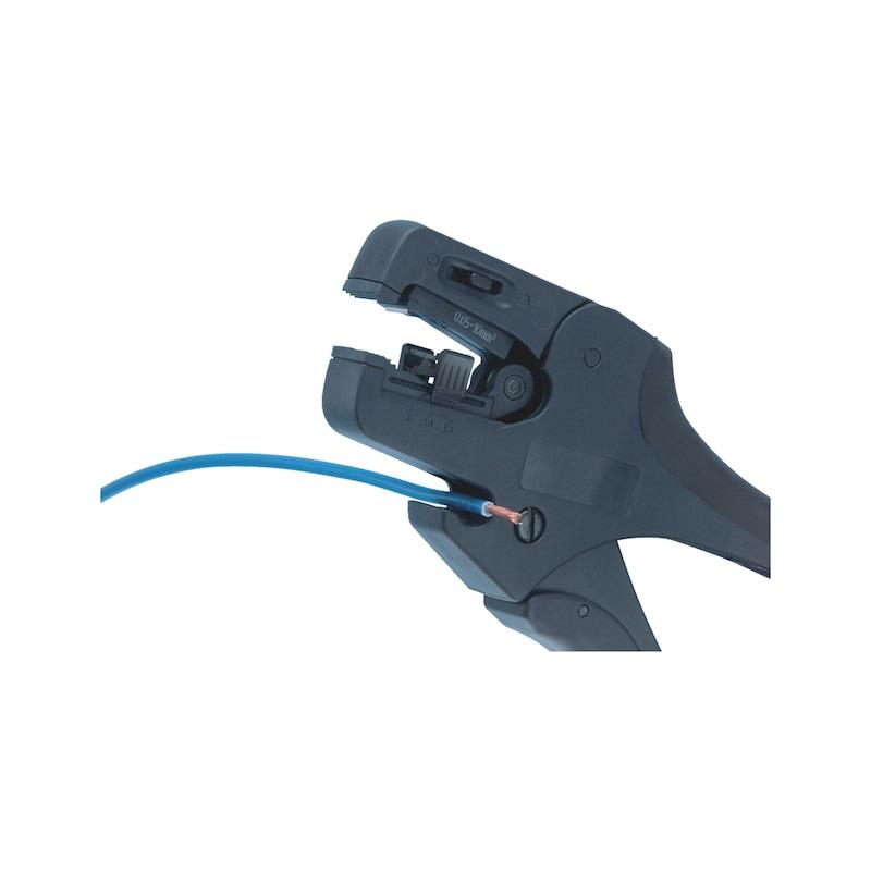 Wire stripping pliers - WRESTR-SLFADJ-(0,02-10SMM)