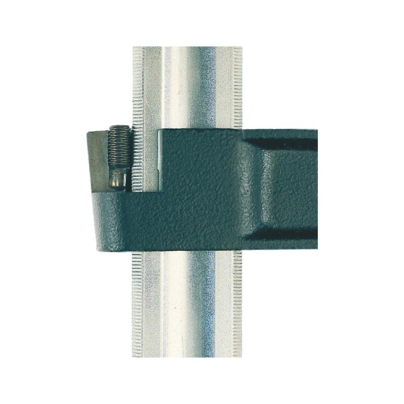Tempergussschraubzwinge mit Schutzkappen - SHRBZWINGE-TG-800X120MM