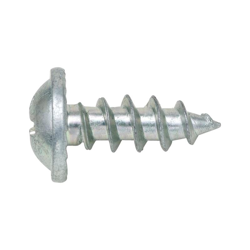 Quick-mount NPH screw