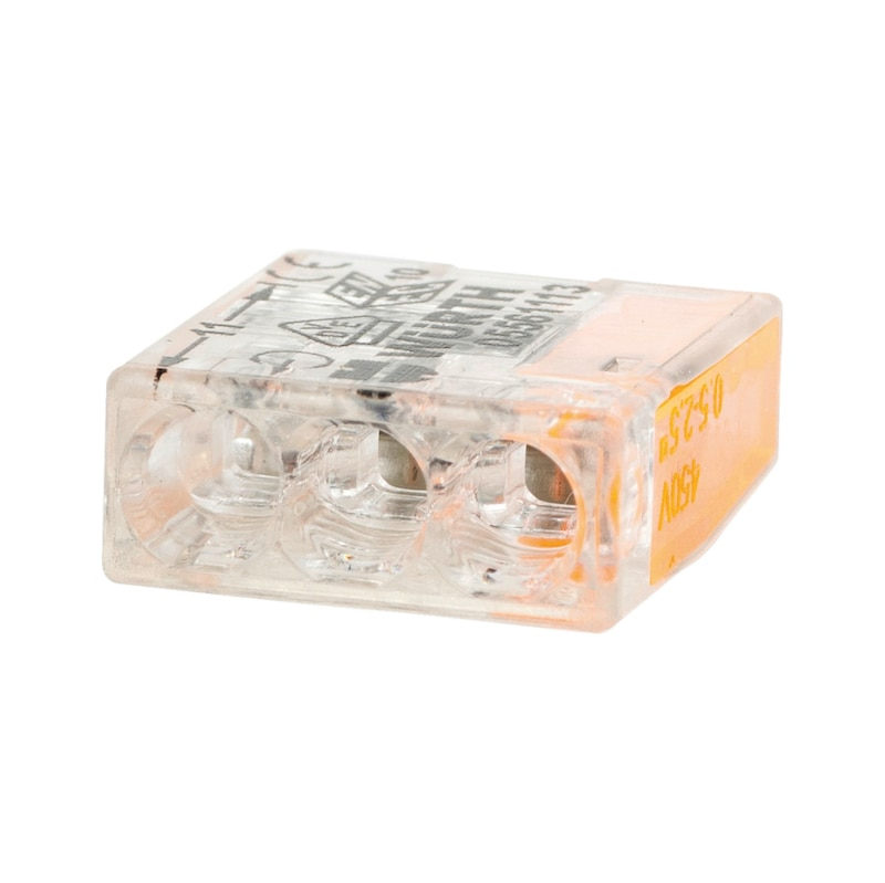 ELMO<SUP>®</SUP> Verbindungsklemme schraublos kompakt